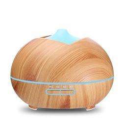 Essential Oil Diffuser, 400ml Mist Humidifier, Aroma Diffuse