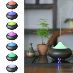 Diffuser Mist Humidifier 7 LED Color Ultrasonic Essential Oi