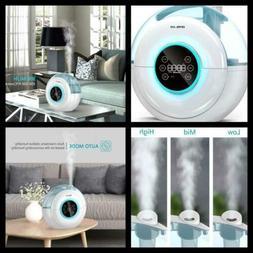 Digital Ultrasonic Cool Mist Humidifier Baby Bedroom Air Cle