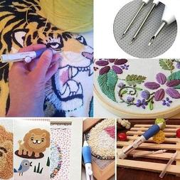 DIY Magic Embroidery Pen Needle Weaving Tool Fancy Set 1.3mm