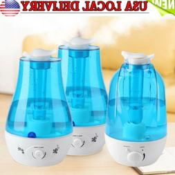 3L/4L Dual Mist Outlet Humidifier Air Diffuser Aroma Mist Ma