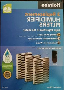 "Holmes ""E"" Humidifier Filter 3 Pack HWF100 Filters Impuritie"