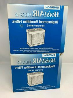 Emerson MoistAir HDC12 Replacement Humidifier Filters 8 Pack