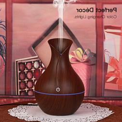 USB Essential Oil Aroma Diffuser LED Ultrasonic Humidifier A