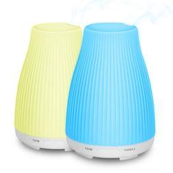 Essential Oil Diffuser Humidifier Ultrasonic Adjustable Led