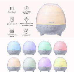 ESSENTIAL OIL DIFFUSER WITH REMOTE CONTROL AROMATHERAPY HUMI