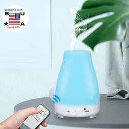 Essential Oil Ultrasonic Aroma Diffuser Cool Mist Humidifier