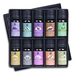 Lagunamoon Essential Oils Top 10 Gift Set Pure Essential Oil