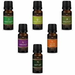 Essential Oils Set 6pc for Air Diffuser Aroma Therapy Humidi