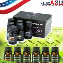 Essential Oils Set 6pcs for Air Diffuser Aroma Therapy Humid