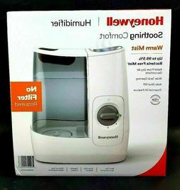 Honeywell Filter Free Warm Mist Humidifier HWM845BWM White N