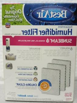 BestAir H100-3 3-Pack Humidifier Wick Filters-Holmes HWF100