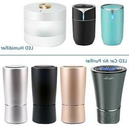 USB Pet Air Purifier HEPA Filter Smoke Eliminator Humidifier