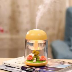 humidifier usb landscape lamp essential oil diffuser