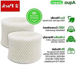 2-Pack Honeywell HAC-504AW Compatible Humidifier Filter A BY