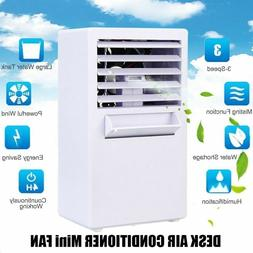 Household Chiller Air Cooler Desk FAN Digital Display Person