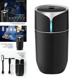 Humidifier Air Purifier LED Ultrasonic Diffuser Fountain Por
