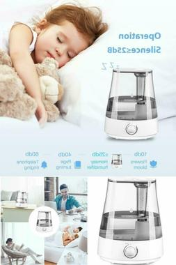 Humidifier Cool Mist For Large Room Bedroom Baby Office Whis