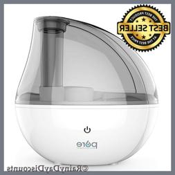 Pure Enrichment Humidifier MistAire Silver Ultrasonic Cool M