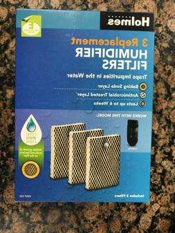 Holmes Humidifier Replacement Filter 3 Pack Model HWF100