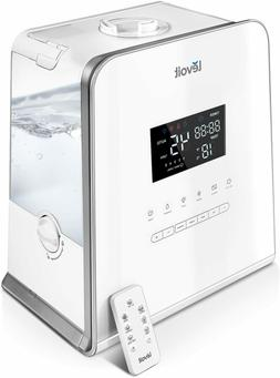 LEVOIT Humidifier Ultrasonic 186oz Steam Hot And Cold 5 Leve
