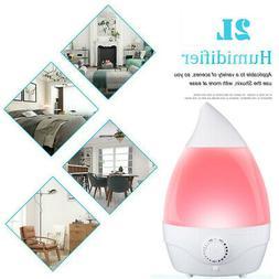 Humidifier Ultrasonic Whisper-quiet Aroma Diffuser 7 Color L