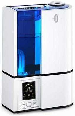 Humidifiers, 4L Cool Mist Ultrasonic Humidifier for Bedroom