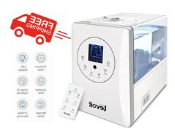 Levoit Humidifiers 6l Warm And Cool Mist Ultrasonic Humidifi