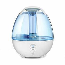 Cool Mist Humidifiers, 2 Liter Ultrasonic W/Quiet, Timing, W