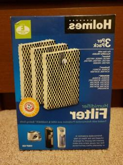 Holmes HWF100 Humidifier E Filter Antimicrobial 3 Pack New