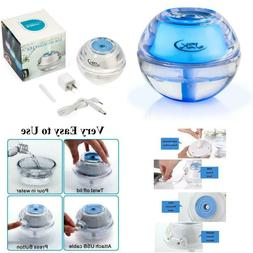 Jzk Mini Portable Personal Cool Mist Air Humidifier With Nig