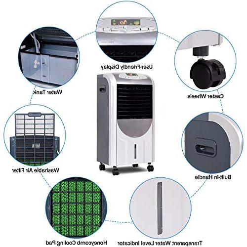 LHONE 5 1 Compact Portable Air and with Filter Ice Control