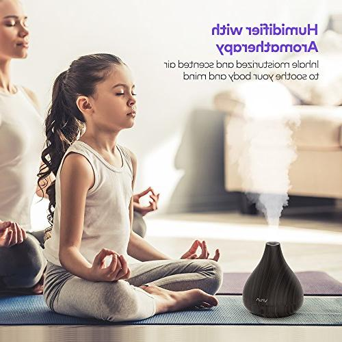 VAVA 2-in-1 Diffuser & Humidifier, Oils Diffusers, Ultrasonic for Home Yoga No