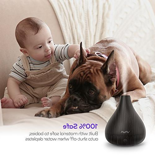VAVA Humidifier, Essential Diffusers, Large Ultrasonic Yoga Disturb