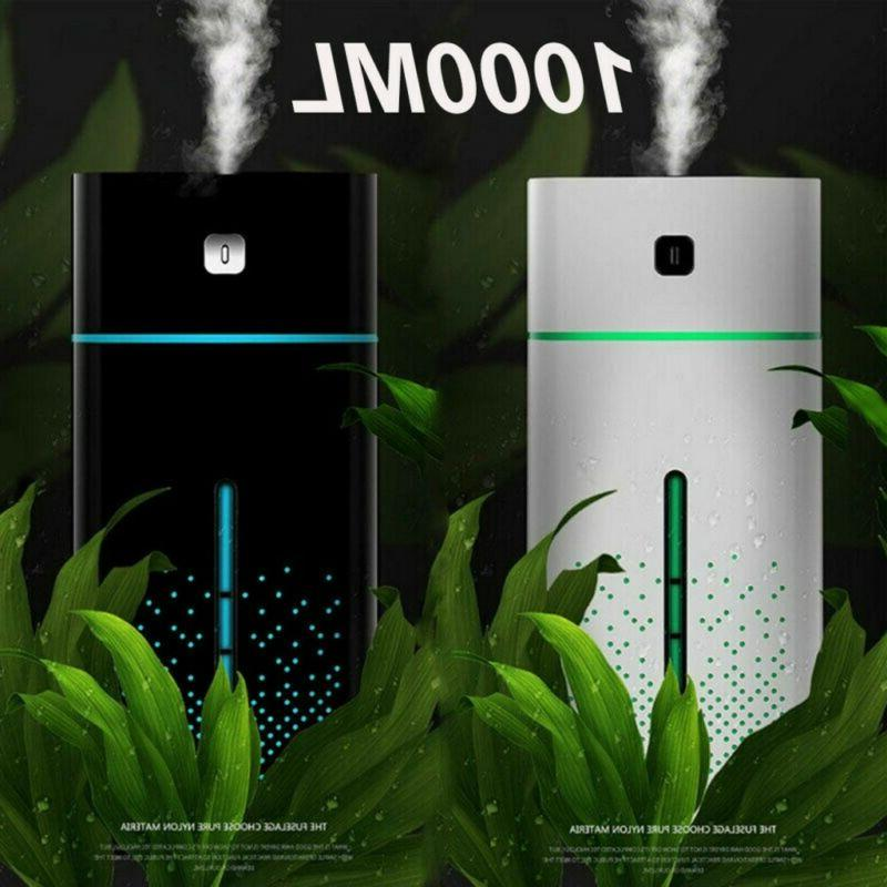 1000ML 7 LED Essential Oil Aroma Humidifier Air Aromatherapy