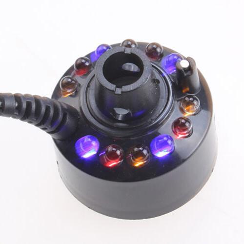 12 LED Mist Fogger Fog Humidifier