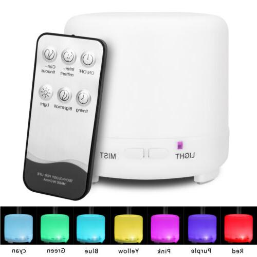 Cool Mist Ultrasonic Aroma Diffuser Humidifier Air Aromather