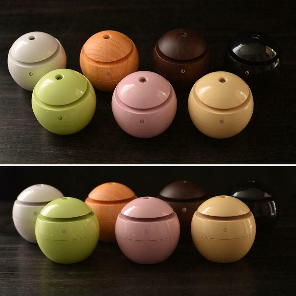 130ML Essential Diffuser Wood Aromatherapy Humidifier