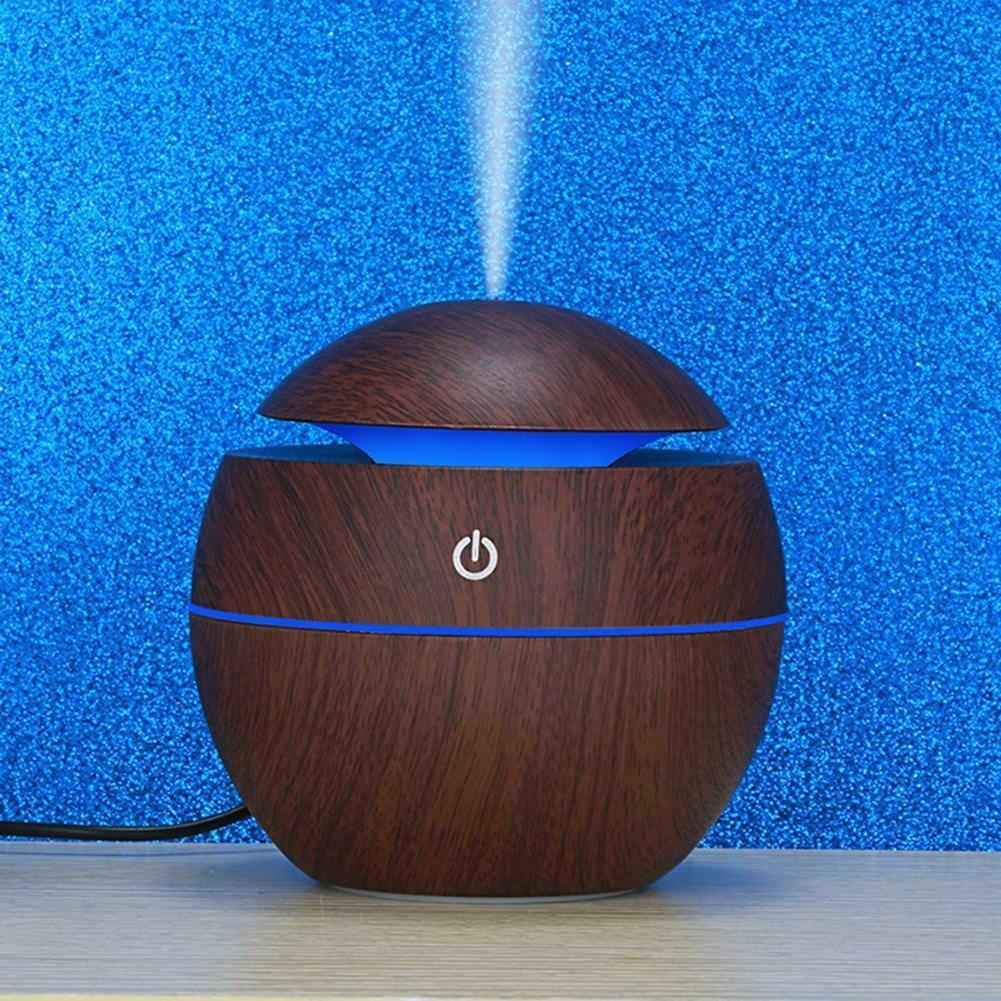 130ML Diffuser Wood Grain Aromatherapy Humidifier