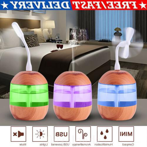 1l ultrasonic aroma humidifier double nozzle air
