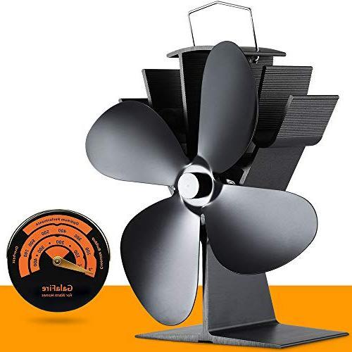 Free Stove Thermometer + 50°C Start Silent Heat Powered Wo