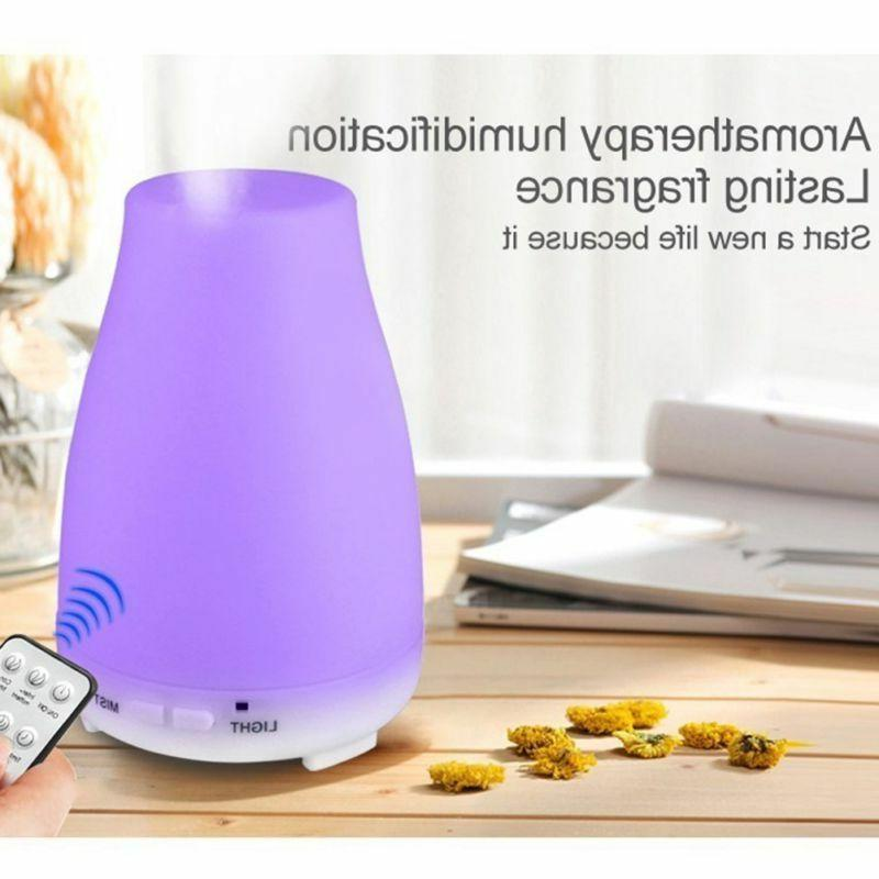200ML Control Colors LED Essential Diffuser
