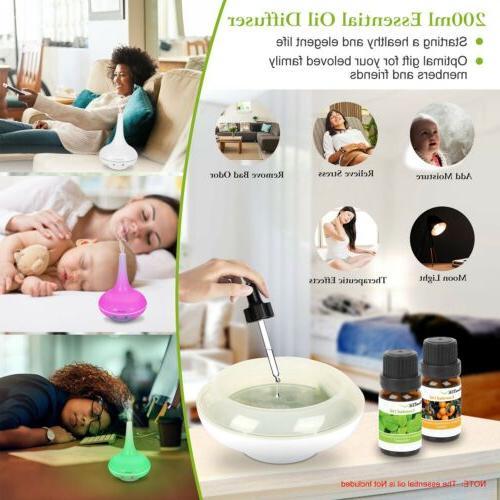 200ML Humidifier Diffuser Lonizer