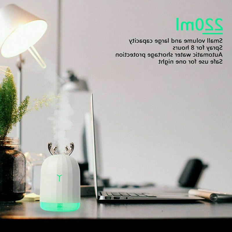 220 Humidifier Oil Diffuser For Car Office Room