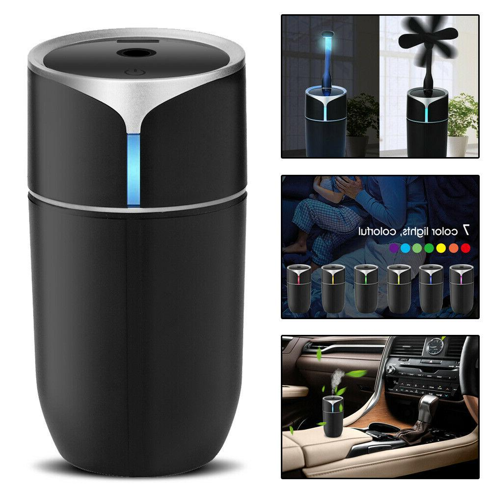 230ml mini ultrasonic air diffuser mist purifier