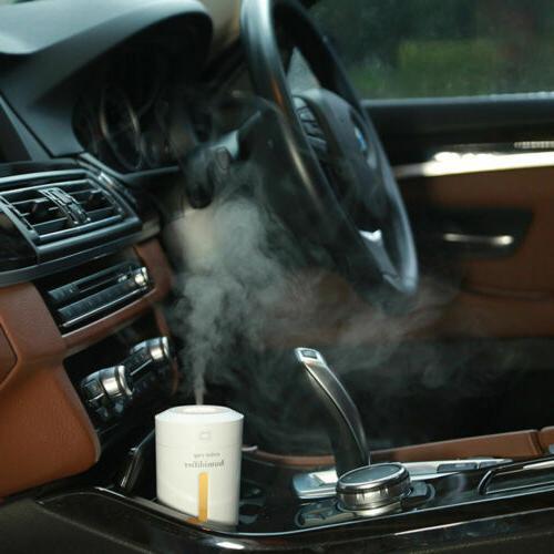 230ml USB Light Air Humidifier Aroma Mist Car