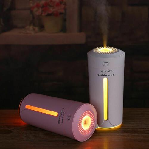 230ml Portable USB Light Aroma Mist Oil Car