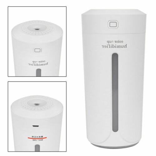 230ml Portable USB Mini Home Humidifier Aroma Purifier