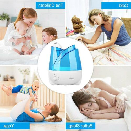 2L Water Maker Quiet Humidifier Tray