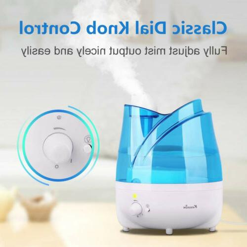 2L Water Mist Maker Air Humidifier with Tray